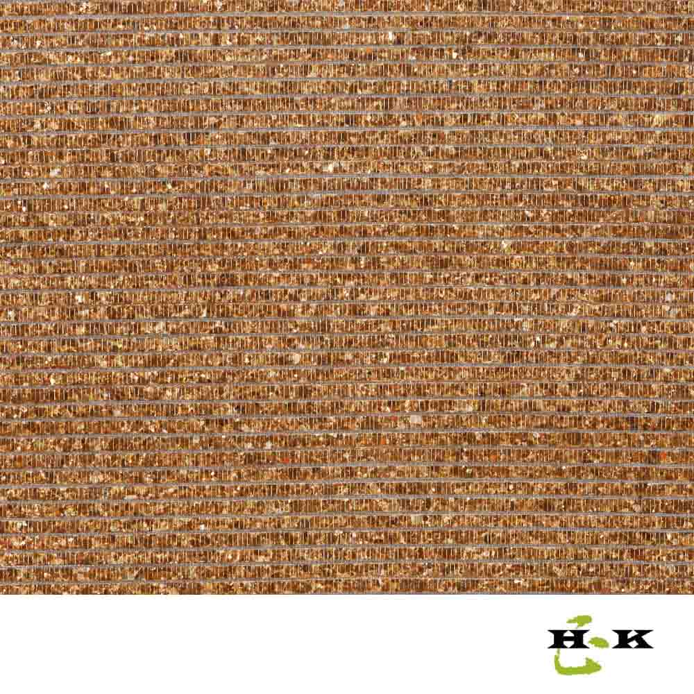 Brown woven mother of pearl wallpaper