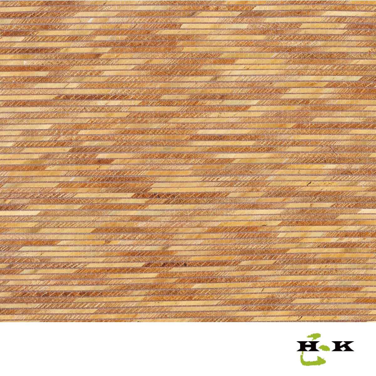 Natural banana stem material contemporary wallpaper
