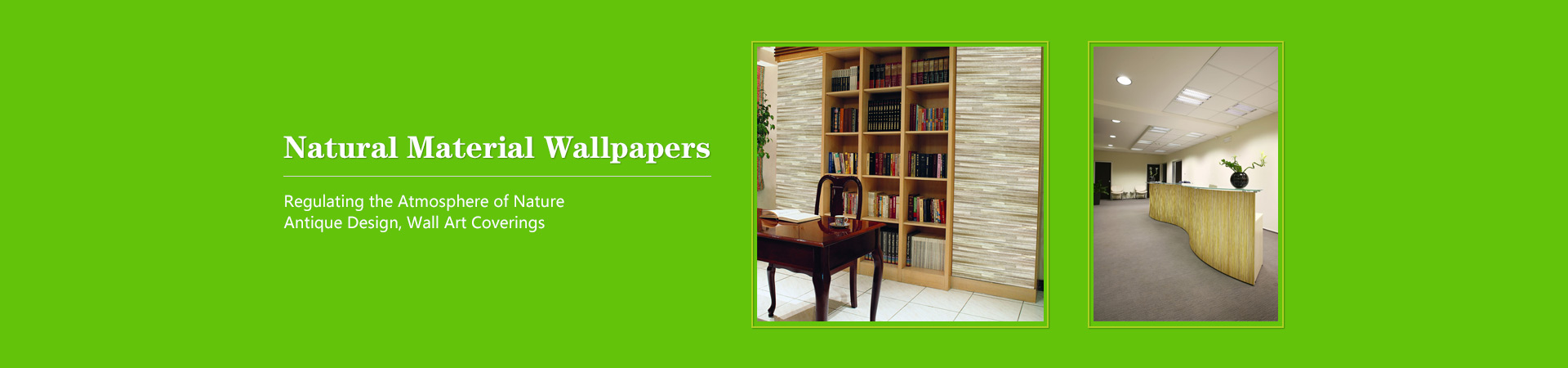 Decorative Wall Coverings Supplier-HK Banner