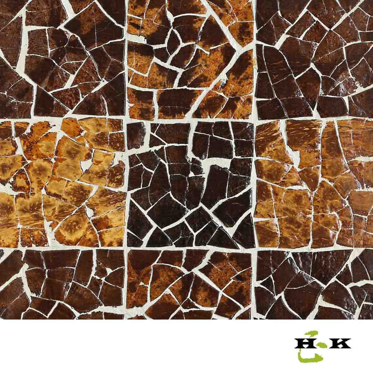 Decorative Wall Coverings : Decorative coconut panels wall covering