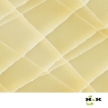 Translucent synthetic stone panels for wall