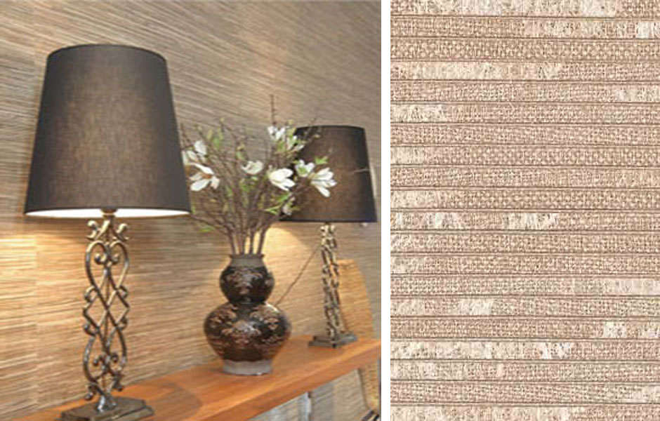 H&K Natural Material High End Wallcoverings for Home
