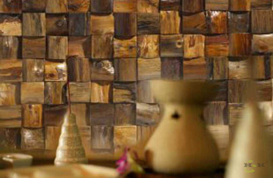 Wooden wall panels interior design ideas for living room